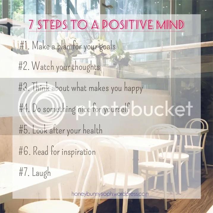 7 Steps to a positive mind