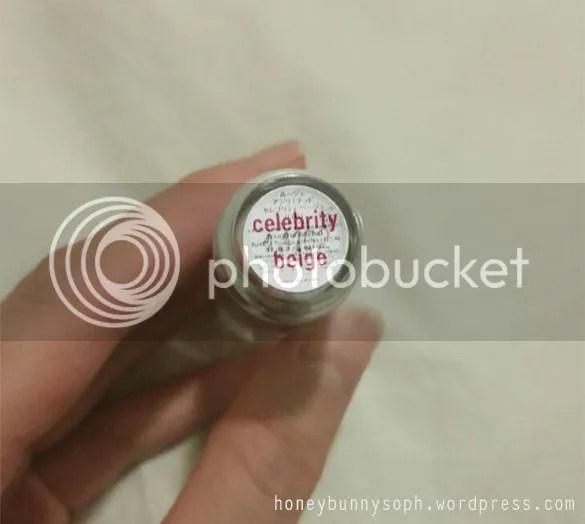 Shu Uemura Lipstick Celebrity beige