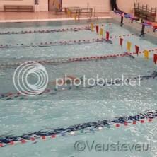 Woensdag, onze oudste heeft zwemtraining!