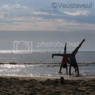 Keek op de week - even sporten op het strand!