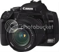 Canon spiegelreflex 400D is verleden tijd... hij werkt niet meer naar behoren!