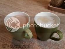 Groene Vingers? Eerst maar eens koffie in groene bekers!