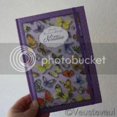 cadeau voor de juf - notitieboekje één van de cadeautjes!