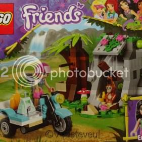 Motor en apenverblijf ook van Lego Friends