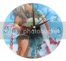 Moederdag cadeau - klok met foto