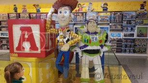 De Lego winkel in Disney Village bij Disneyland Paris
