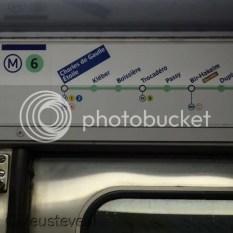 Parijs - In de metro!