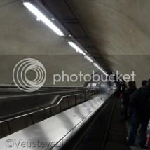 Parijs, de metro ver onder de grond.