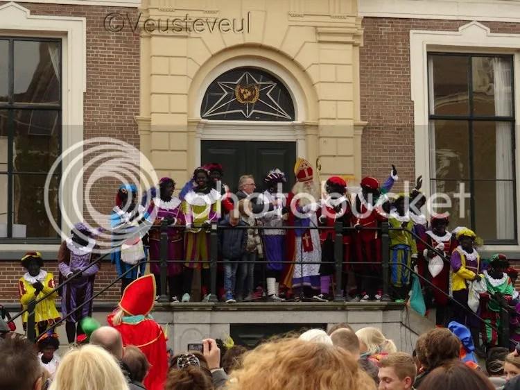 14 november 2015, aankomst Sint en zijn Pieten in Wageningen