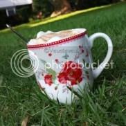 Genieten.. ik kan genieten van een heerlijke kop koffie!