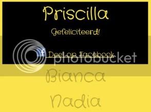 Winactie - de uitslag! Priscilla, winnaar rokje maat 92/98!