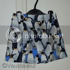 Pinguïn rok voor de oudste! Rokjes maken