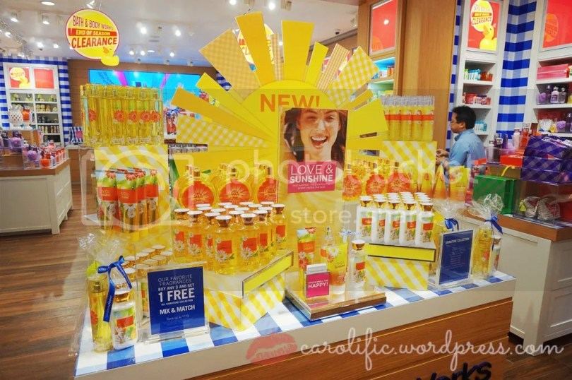 Bath and Body Works, BBW, Bath and Body Works Malaysia, Lotion, Fragrance, Candles, Body Care, Skin Care, Moisturisers, Bubble Bath, Love and Sunshine, New Collection, Sale, Home,