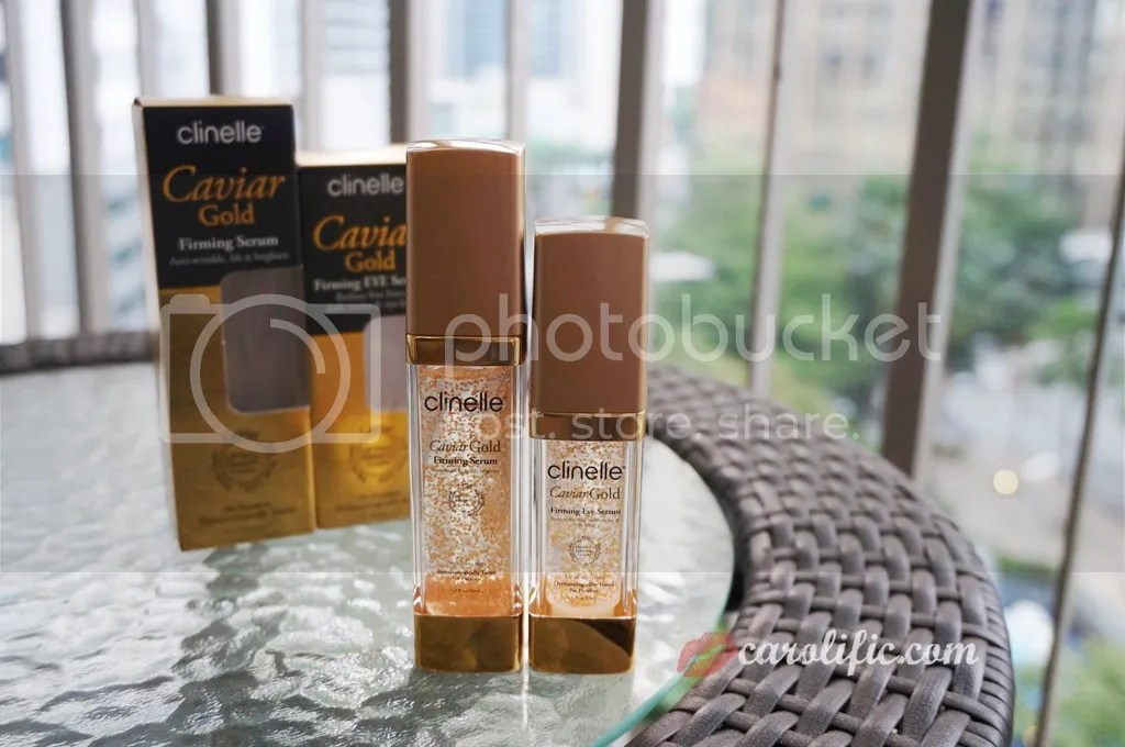 Clinelle, Caviar, Gold, Caviar Gold, Serum, Face Serum, Eye Serum, Firming, Dark Circles, Skin Care, Malaysia, Kuala Lumpur, Review, Blogger, Beauty Blogger,