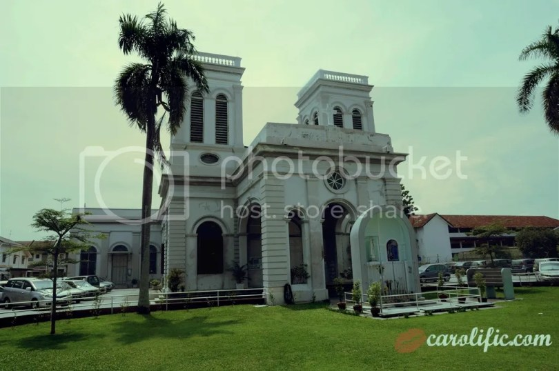 Penang, Travel, Malaysia, Island, Georgetown, Georgetown Penang, What to do, What to see, Sightseeing, Food, Nyonya, Cheap Travel, Traveloka, Church of the Assumption,