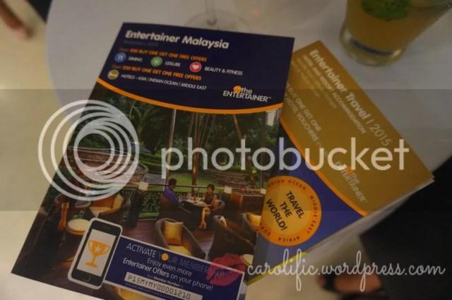 The Entertainer, Malaysia, Kuala Lumpur, Launch, 2015, Starhill Culinary Studio