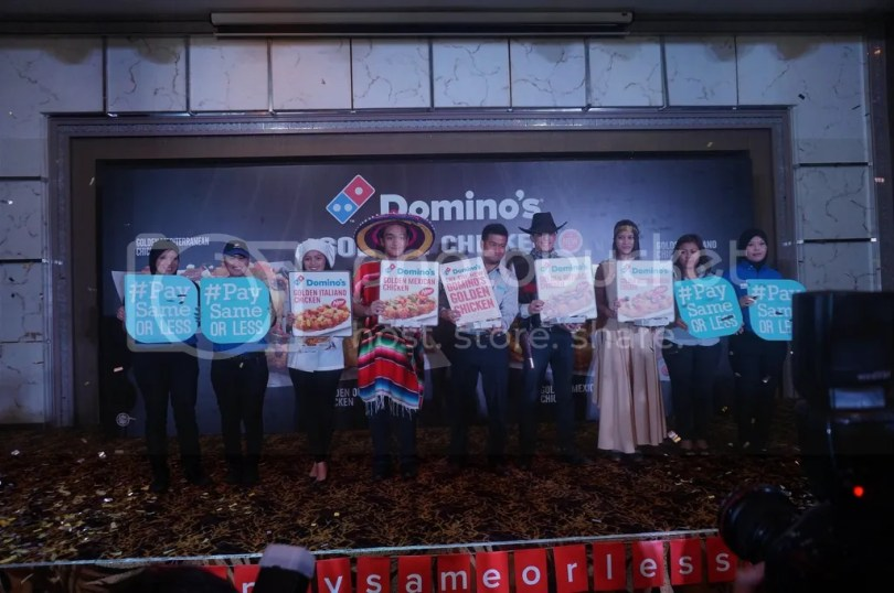 Domino's Pizza, Kuala Lumpur, Malaysia, Golden Chicken, GST, No GST, No Price Increase, Pizza, Online Delivery, Delivery, Food Delivery, Events, Blogger,