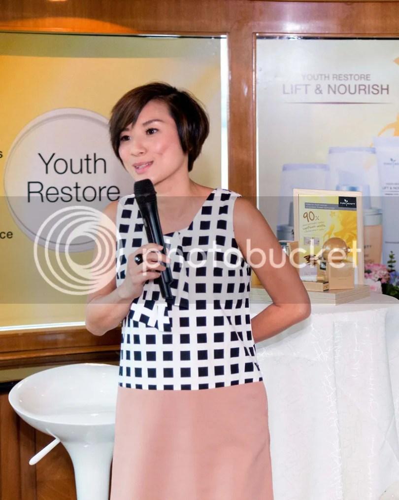 Pure Beauty, Youth Restore, Skin Care, Anti-Ageing, Serum, Firming, Night Cream, Day Cream, Eye Cream, Launch, Event, Putrajaya, Cruise, Wong Chui Ling, Watsons, Malaysia