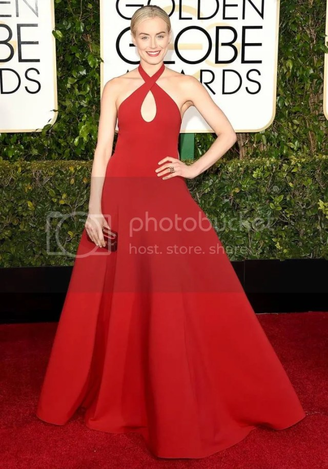 Taylor Schilling, Golden Globes, 2015