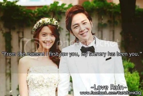 Kdrama Quote from Love Rain