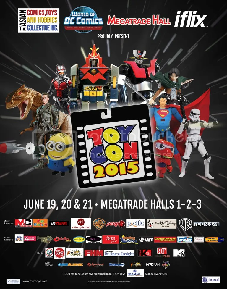 Toy Convention 2015 : Asia's Biggest Pop Culture and Toy