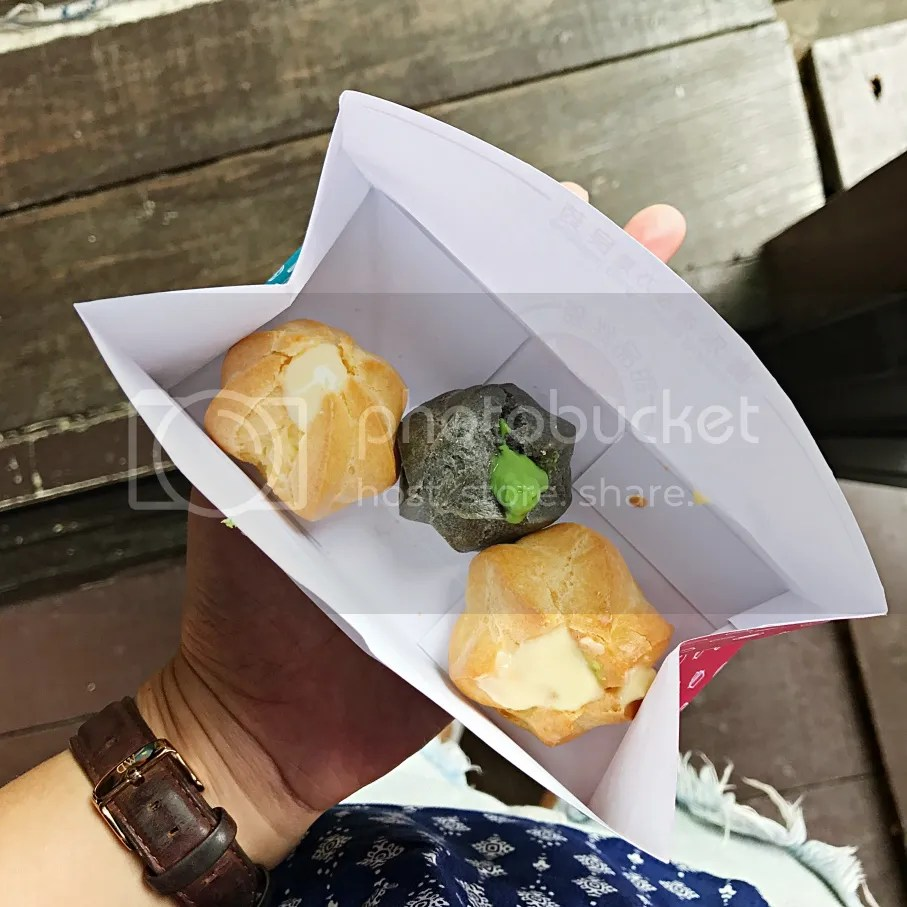 My favorite is the durian puff!