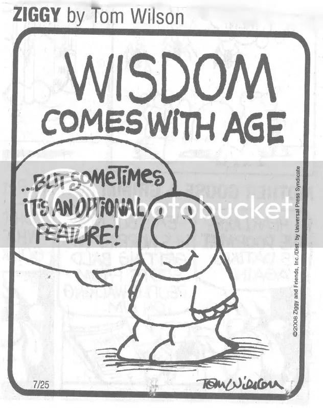 Image result for wisdom cartoons