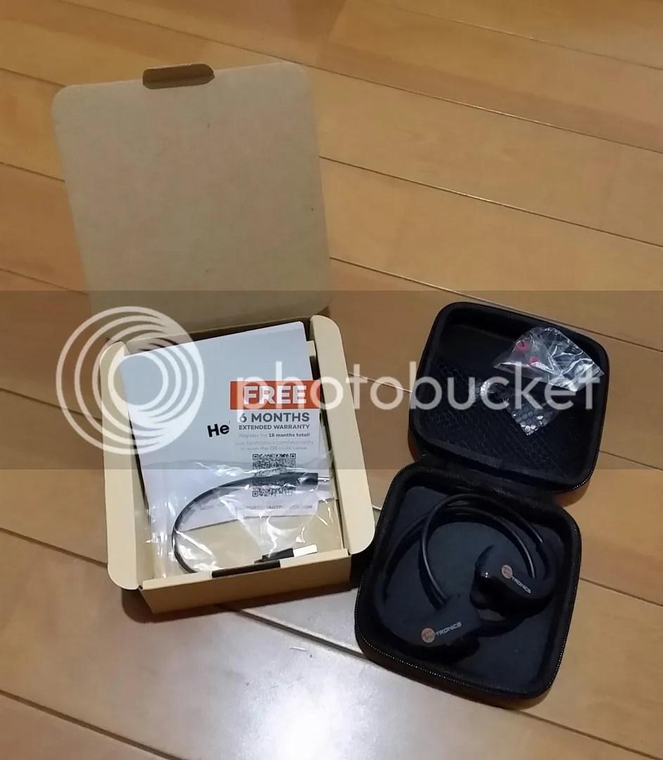Amazon.co.jpで注文してたTaoTronics Bluetooth 4.1ヘッドセットTT-BH09が到着