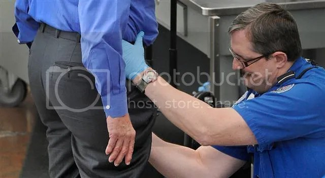 TSA Groping Pictures, Images and Photos