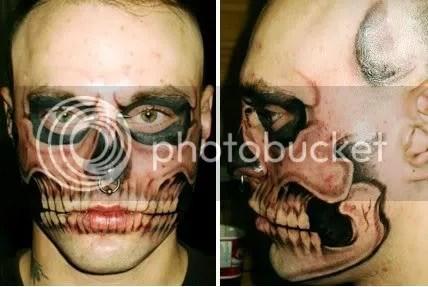 Tatuaje máscara