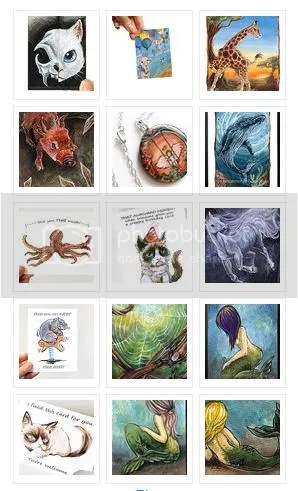 Illustrations, Paintings, Prints, Animal Art, ACEOs