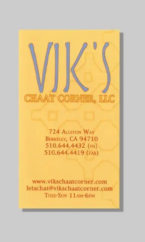 Vik's Business Card