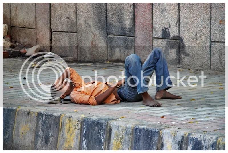 Street Life (Delhi) -- Sleeper