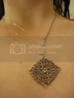 Betsy + Iya Asymmetrical Copper Necklace