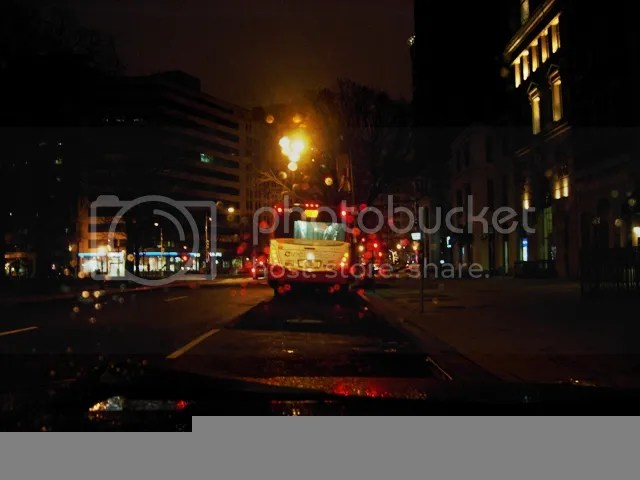 Early a.m. Circulator bus to Georgetown