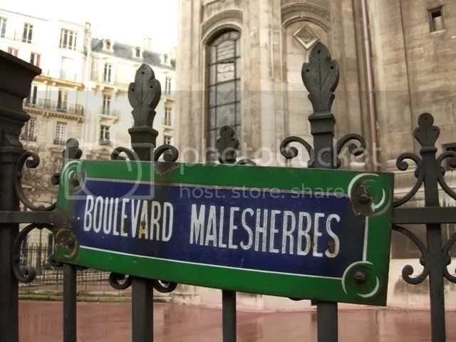 Boulevard Malesherbes - hiver 2007