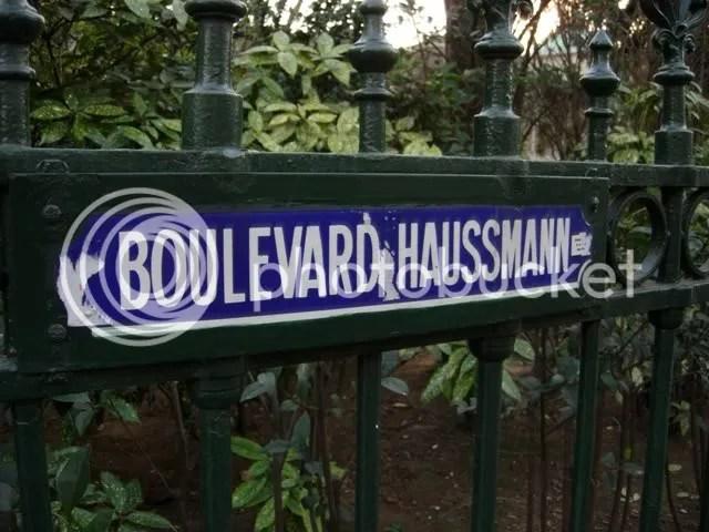 Boulevard Haussmann - près de lendroit où jai habité - printemps 2007