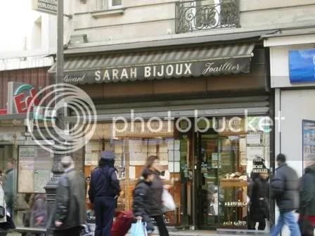 Un magasin de bijoux JUSTE pour moi ! - décembre 2006