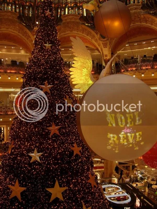 Noël au Printemps - fin novembre 2006