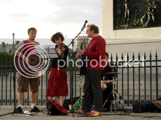 Musiciens à la Fête de la Musique - juin 2007