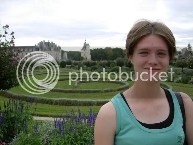 me voilà au Château de Chenonceau - août 2006