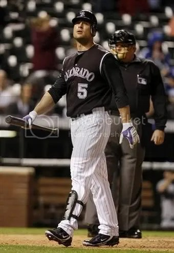 He may not be tappin the Rockies next season