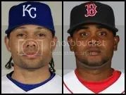 Coco Crisp, the newest Royal; Ramon Ramirez, the newest Red Sock.