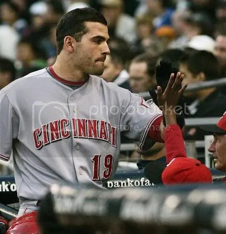 Id like to high-five Joey Votto, too.