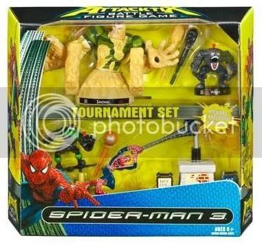 Spider-Man III Attacktix Set