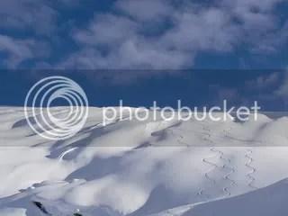big glacier skiing in canada