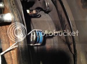 Help to reinstall the parking brake | IH8MUD Forum