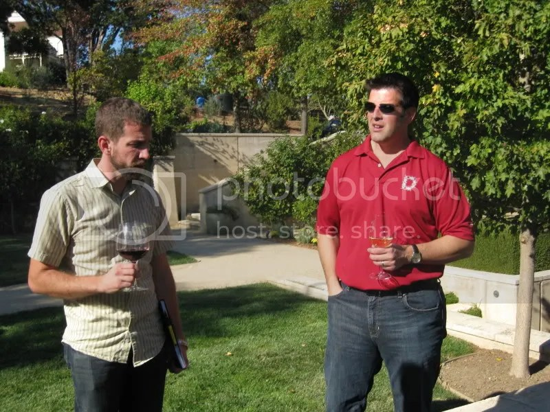 Chris talks to John from Anything Wine about the garden