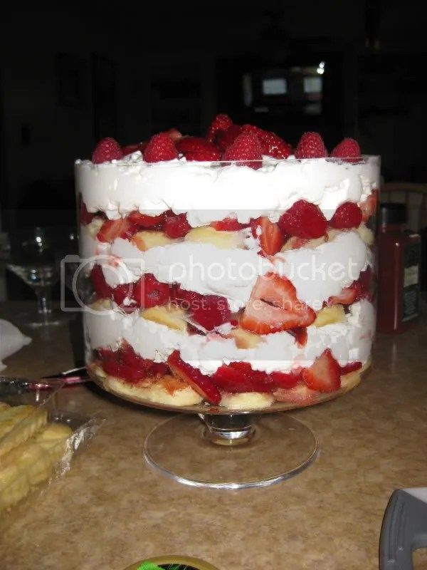 My pretty trifle!!