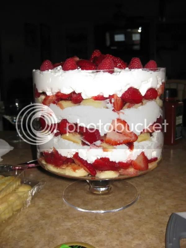 My pretty trifle!!